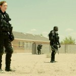 Emily Blunt and Daniel Kaluuya in Sicario
