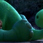Arlo and the critter in The Good Dinosaur