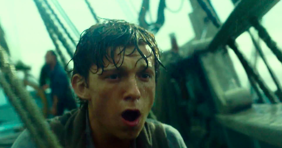 In The Heart Of The Sea The Perfect Film To Watch In Imax In The Heart Of The Sea Movie Trailer Screencaps Tom Holland Minority Review