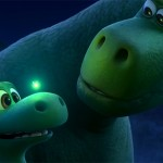 Arlo and Poppa in The Good Dinosaur