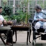 Farhan Akhtar and Amitabh Bachchan in Wazir