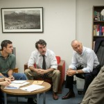 Rachel McAdams, Mark Ruffalo, Brian d'Arcy James, Michael Keaton and John Slattery in Spotlight