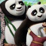 Po's two dads in Kung Fu Panda 3