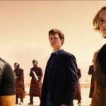 Theo James, Ansel Elgort and Shailene Woodley in Allegiant