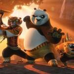 The gang in Kung Fu Panda 3