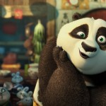 Mr Ping and Po in Kung Fu Panda 3