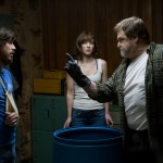 John Gallagher Jr, Mary Elizabeth Winstead and John Goodman in 10 Cloverfield Lane