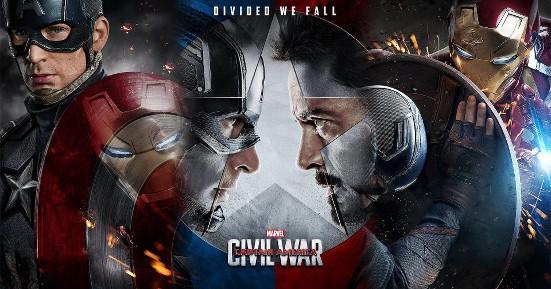 Captain America: Civil War promo poster