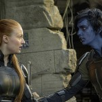 Sophie Turner and Kodi Smit-McPhee in X-Men: Apocalypse