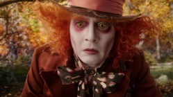 Johnny Depp as the Mad Hatter in Alice Through The Looking Glass