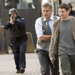 George Clooney and Jack O'Connell in Money Monster