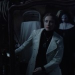 Vera Farmiga and the demon nun in The Conjuring 2