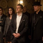 Dave Franco, Lizzy Caplan, Jesse Eisenberg, Woody Harrelson in Now You See Me 2