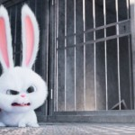 Snowball in a scene from The Secret Life of Pets