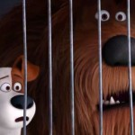 Max and Duke in a scene from The Secret Life of Pets