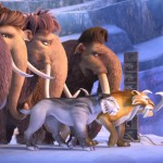 The gang on a mission in Ice Age: Collision Course