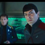 Anton Yelchin and Zachary Quinto as Chekov and Spock in Star Trek Beyond