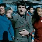 The crew in Star Trek Beyond