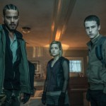 Daniel Zovatto, Jane Levy and Dylan Minnette in Don't Breathe