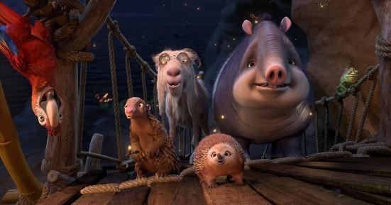 The gang in Robinson Crusoe
