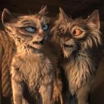 The evil felines in Robinson Crusoe