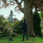 Ella Purnell and Asa Butterfield in Miss Peregrine's Home for Peculiar Children