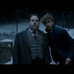 Dan Fogler and Eddie Redmayne in Fantastic Beasts and Where To Find Them