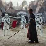 Donnie Yen as the blind Jedi Chirrut Imwe in Rogue One