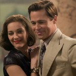 Marion Cotillard and Brad Pitt in Allied