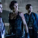 Ali Larter, Milla Jovovich and their friend in Resident Evil: The Final Chapter