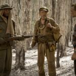 Samuel L. Jackson, John C. Reilly and Tom Hiddleston in Kong: Skull Island