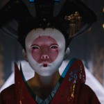 The geisha in Ghost in the Shell