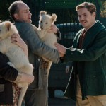 Jessica Chastain and Dainel Bruhl in The Zookeeper's Wife