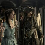 Kaya Scodelario and Johnny Depp in Pirates of the Caribbean: Salazar's Revenge
