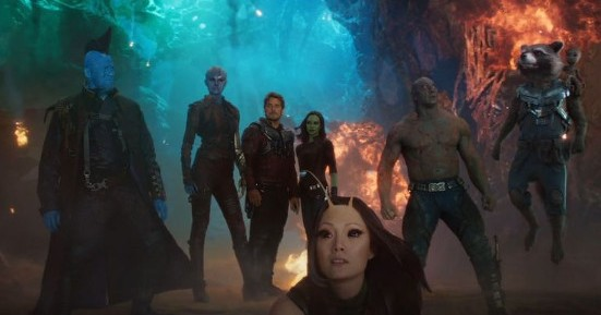 The guardians in Guardians of the Galaxy Vol 2