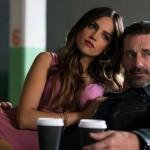Eiza Gonzalez and Jon Hamm in Baby Driver