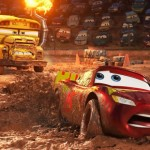 At the demolition derby in Cars 3