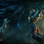 A scene from Transformers: The Last Knight
