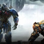 Optimus Prime and Bumble Bee in Transformers: The Last Knight