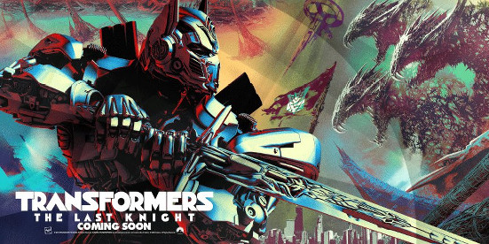 Transformers: The Last Knight promo poster