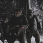 A scene from War for the Planet of the Apes