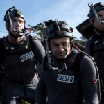 Andy Serkis and his motion capture buddies on the set of War for the Planet of the Apes