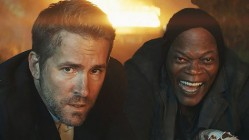 Ryan Reynolds and Samuel L Jackson in The Hitman's Bodyguard