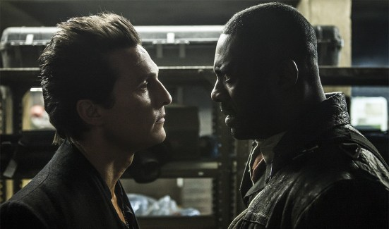 Matthew McConaughey and Idris Elba in The Dark Tower