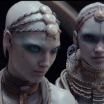 The 'pearl aliens' in Valerian and the City of a Thousand Planets