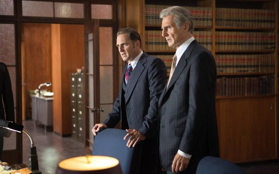 Josh Lucas and Liam Neeson in Mark Felt: The Man Who Brought Down the White House
