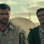 Chris Hemsworth and Michael Shanonon in 12 Strong