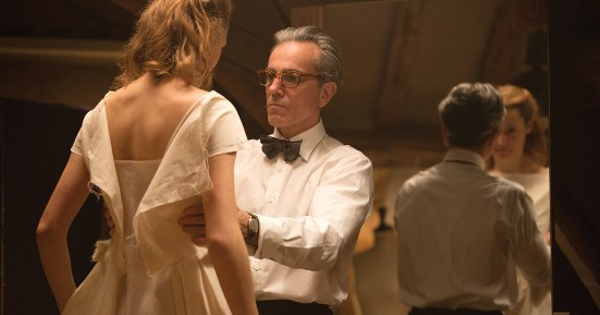 Vicky Krieps and Daniel Day-Lewis in Phantom Thread