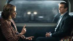 Vera Farmiga and Liam Neeson in The Commuter